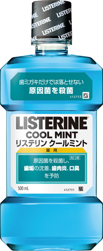COOL MINT® LISTERINE® Antiseptic Mouthwash