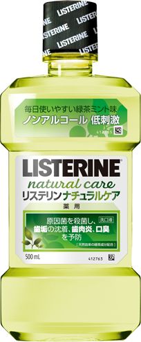Natural Care® LISTERINE® Antiseptic Mouthwash